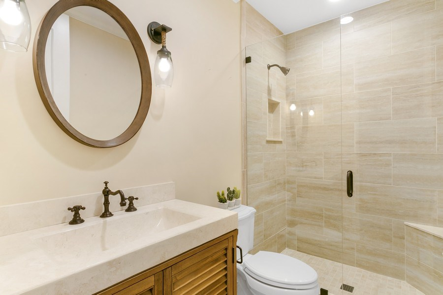 Real Estate Photography - 6840 SE South Marina Way, Stuart, FL, 34996 - Third Bathroom