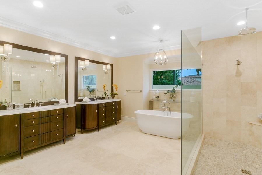 Real Estate Photography - 6840 SE South Marina Way, Stuart, FL, 34996 - Master Bathroom