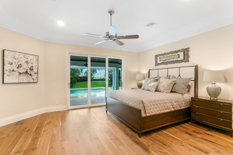 Real Estate Photography - 6840 SE South Marina Way, Stuart, FL, 34996 - Master Bedroom
