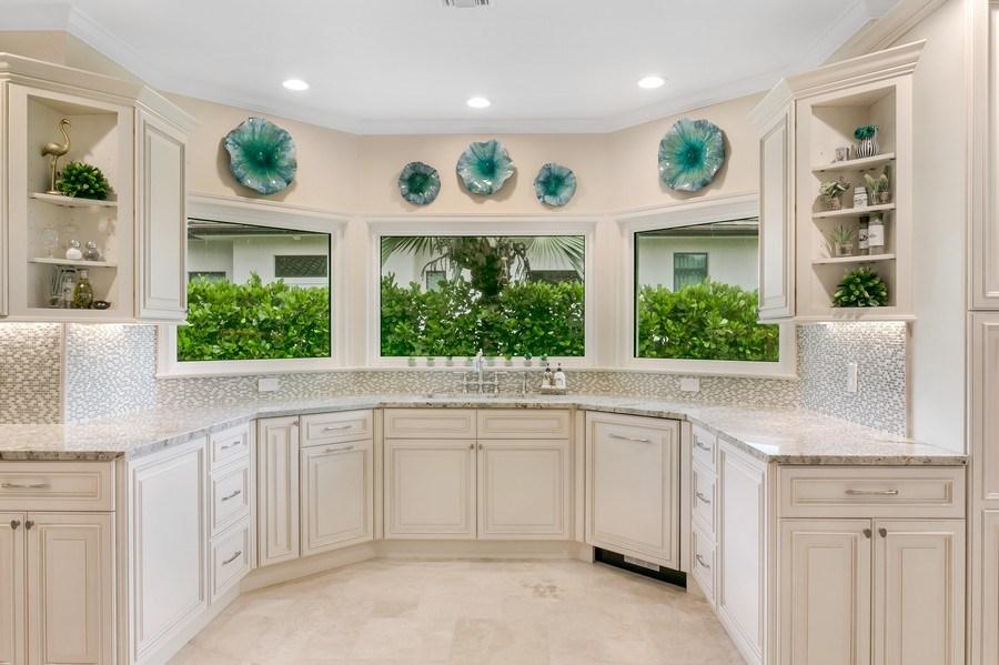 Real Estate Photography - 6840 SE South Marina Way, Stuart, FL, 34996 - Kitchen