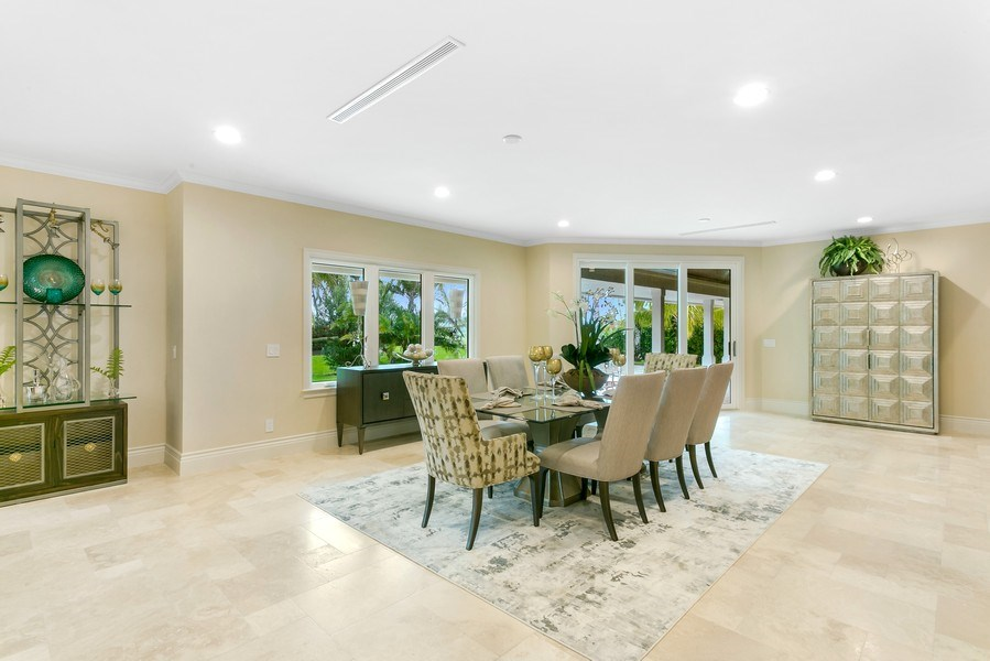 Real Estate Photography - 6840 SE South Marina Way, Stuart, FL, 34996 - Dining Room