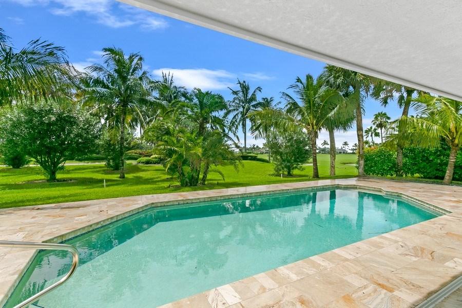 Real Estate Photography - 6840 SE South Marina Way, Stuart, FL, 34996 - Pool