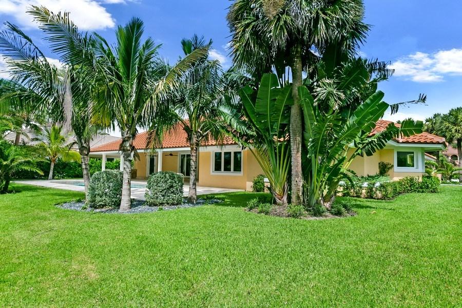 Real Estate Photography - 6840 SE South Marina Way, Stuart, FL, 34996 - Rear Facade