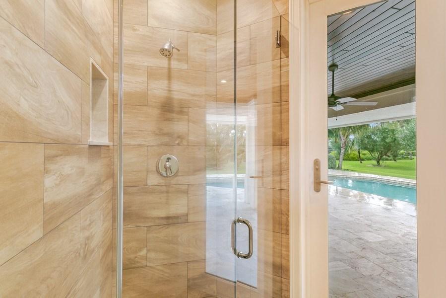 Real Estate Photography - 6840 SE South Marina Way, Stuart, FL, 34996 - Cabana bathroom