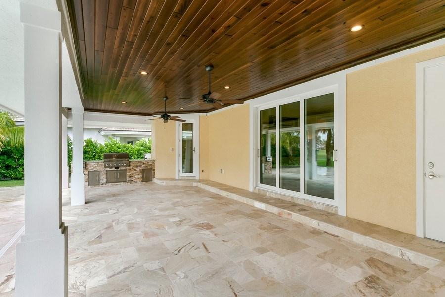 Real Estate Photography - 6840 SE South Marina Way, Stuart, FL, 34996 - Patio