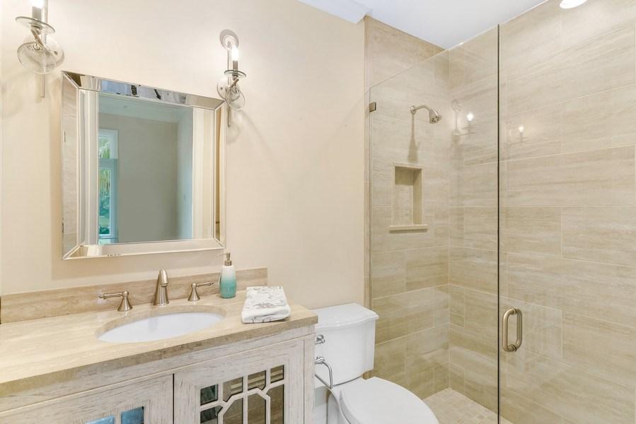 Real Estate Photography - 6840 SE South Marina Way, Stuart, FL, 34996 - Second Bathroom