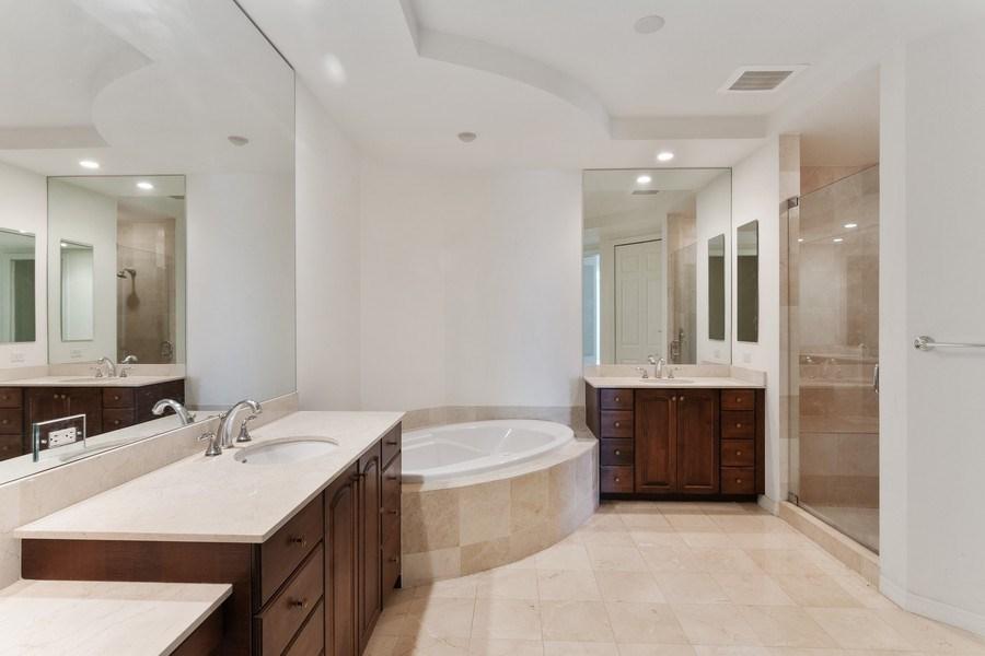 Real Estate Photography - 3603 N. Point Rd. #801 BD6, Osprey, FL, 34229 - Master Bathroom