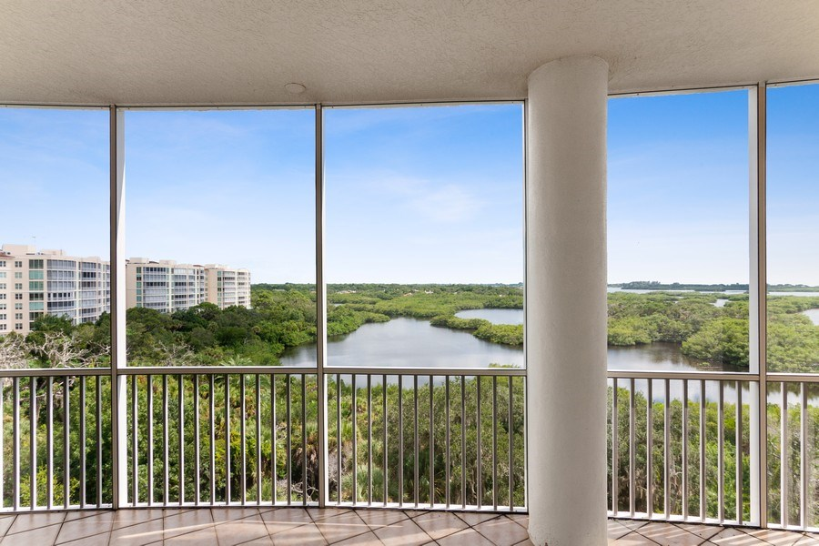 Real Estate Photography - 3603 N. Point Rd. #801 BD6, Osprey, FL, 34229 - View