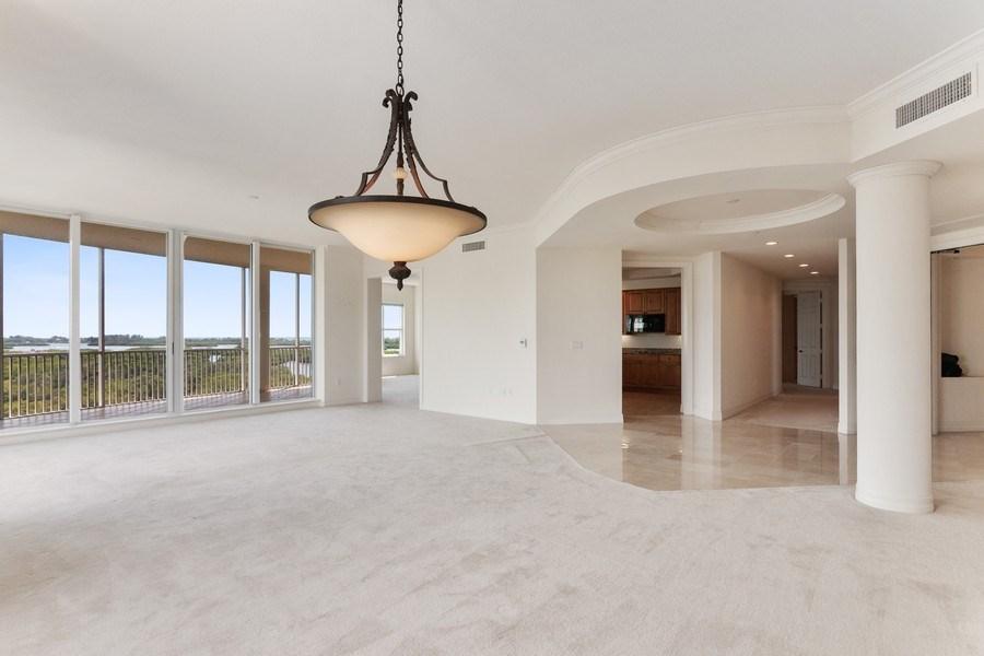 Real Estate Photography - 3603 N. Point Rd. #801 BD6, Osprey, FL, 34229 - Living Room/Dining Room