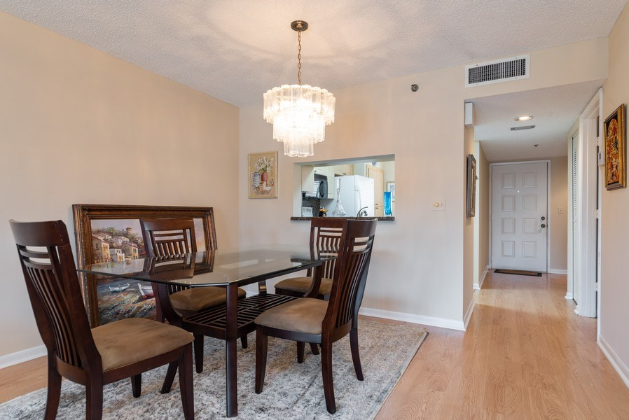 Real Estate Photography - 7310 Ashford Place, Apt 407, Delray Beach, FL, 33446 - Dining Room