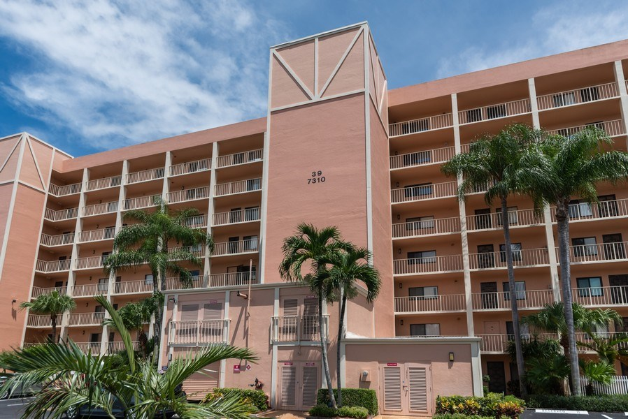 Real Estate Photography - 7310 Ashford Place, Apt 407, Delray Beach, FL, 33446 - Front View