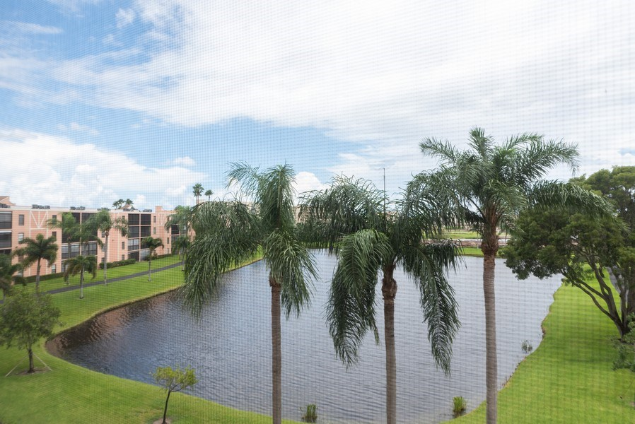 Real Estate Photography - 7310 Ashford Place, Apt 407, Delray Beach, FL, 33446 - Lake View