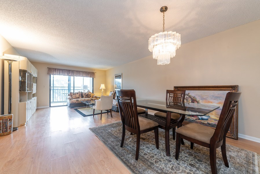 Real Estate Photography - 7310 Ashford Place, Apt 407, Delray Beach, FL, 33446 - Living Room / Dining Room