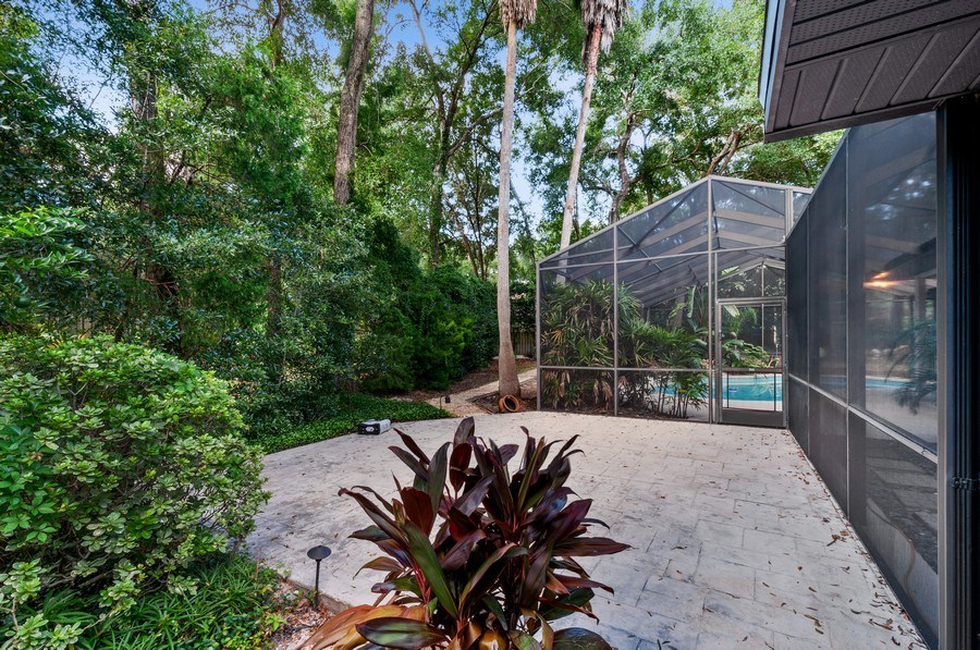 Real Estate Photography - 1917 SW 86th Terrace, Gainesville, FL, 32608 - Back Yard