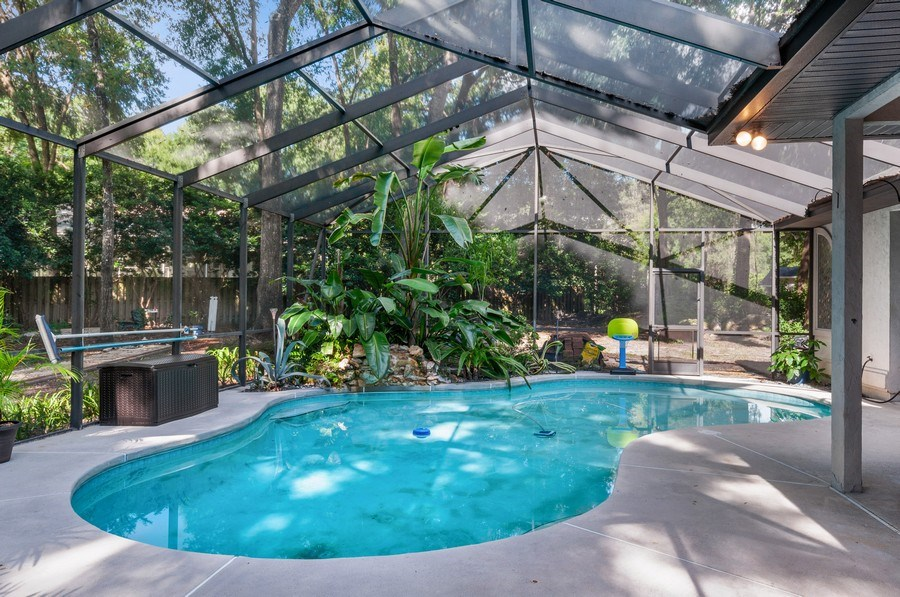 Real Estate Photography - 1917 SW 86th Terrace, Gainesville, FL, 32608 - Pool