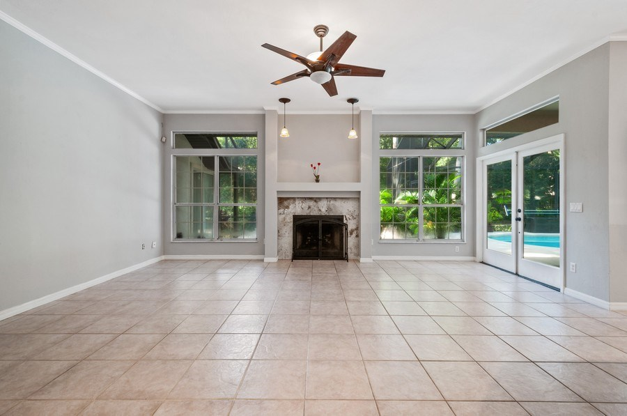 Real Estate Photography - 1917 SW 86th Terrace, Gainesville, FL, 32608 - Family Room