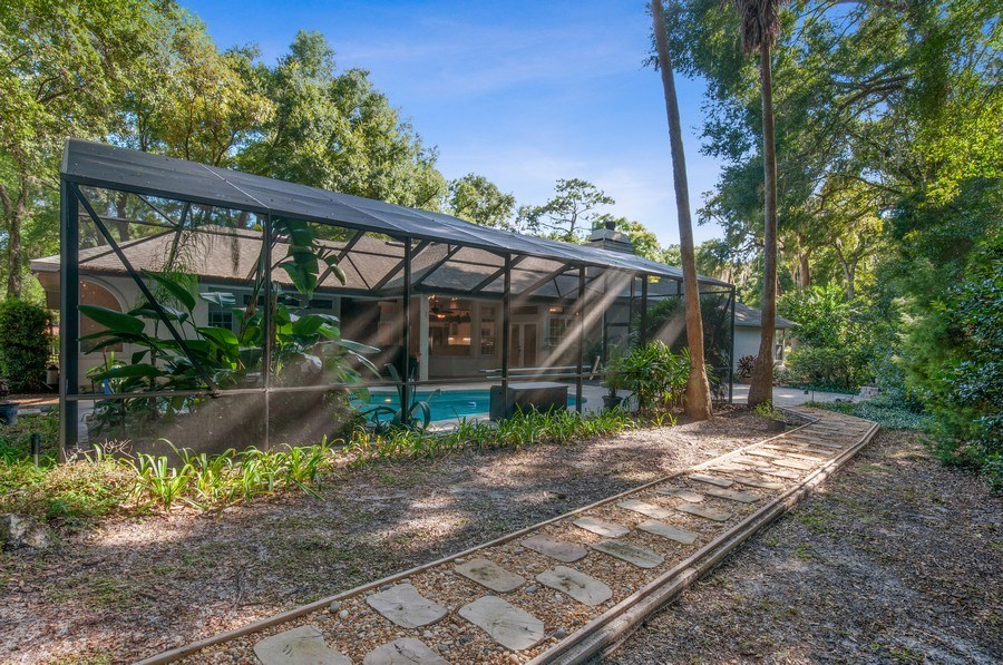 Real Estate Photography - 1917 SW 86th Terrace, Gainesville, FL, 32608 - Rear View