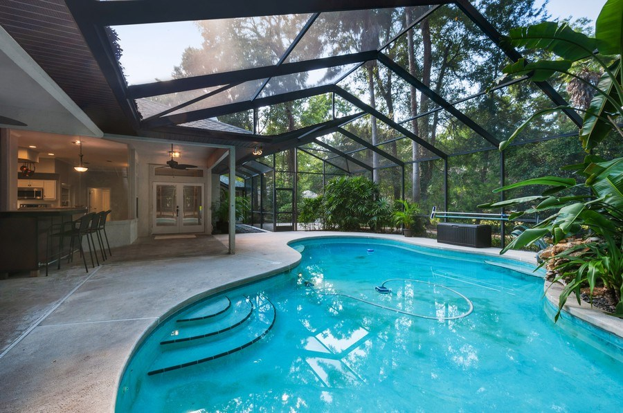Real Estate Photography - 1917 SW 86th Terrace, Gainesville, FL, 32608 - Patio