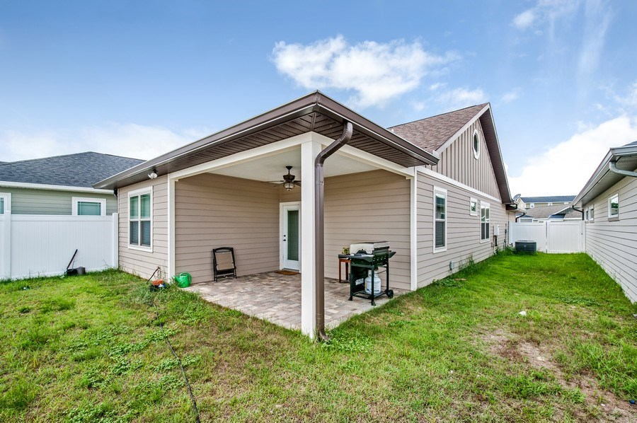 Real Estate Photography - 1789 SW 247th Street, Newberry, FL, 32669 - Rear View