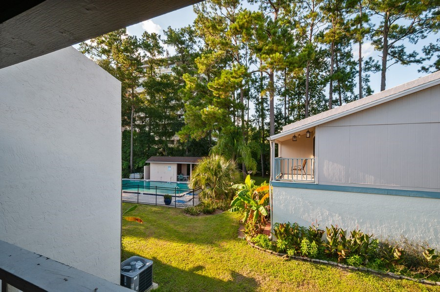Real Estate Photography - 1420 SW 25th place, Gainesville, FL, 32608 - Balcony