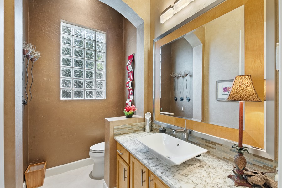 Real Estate Photography - 1420 Via Portofino, Naples, FL, 34108 - Bathroom