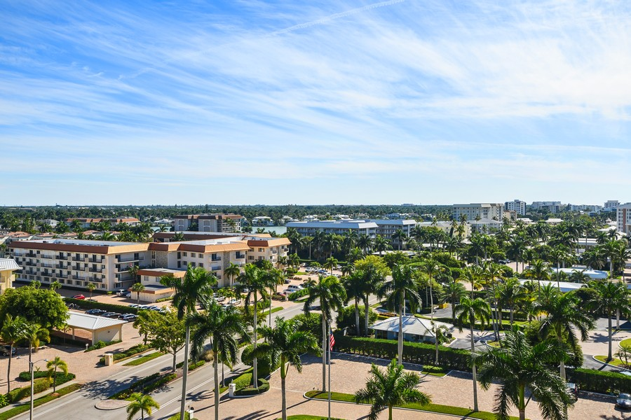 Real Estate Photography - 3115 Gulf Shore Blvd. N., Penthouse 2, Naples, FL, 34103 - View