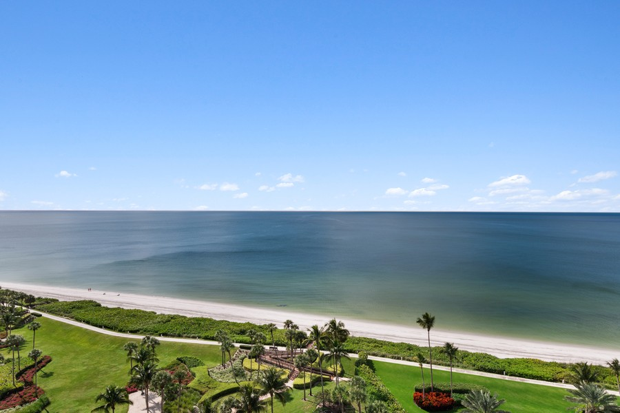 Real Estate Photography - 4551 Gulf Shore Blvd. N. #1702, Naples, FL, 34103 - View