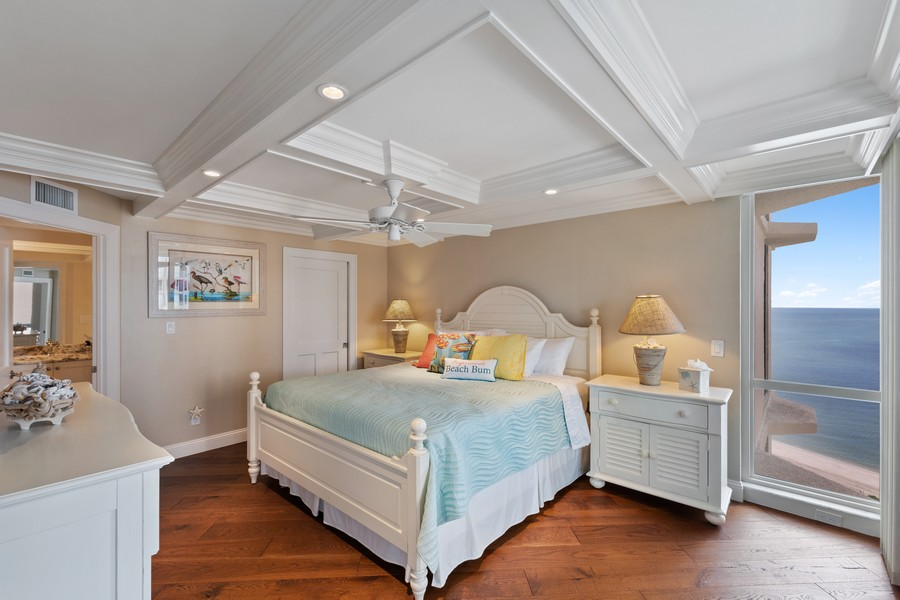 Real Estate Photography - 4551 Gulf Shore Blvd. N. #1702, Naples, FL, 34103 - Bedroom