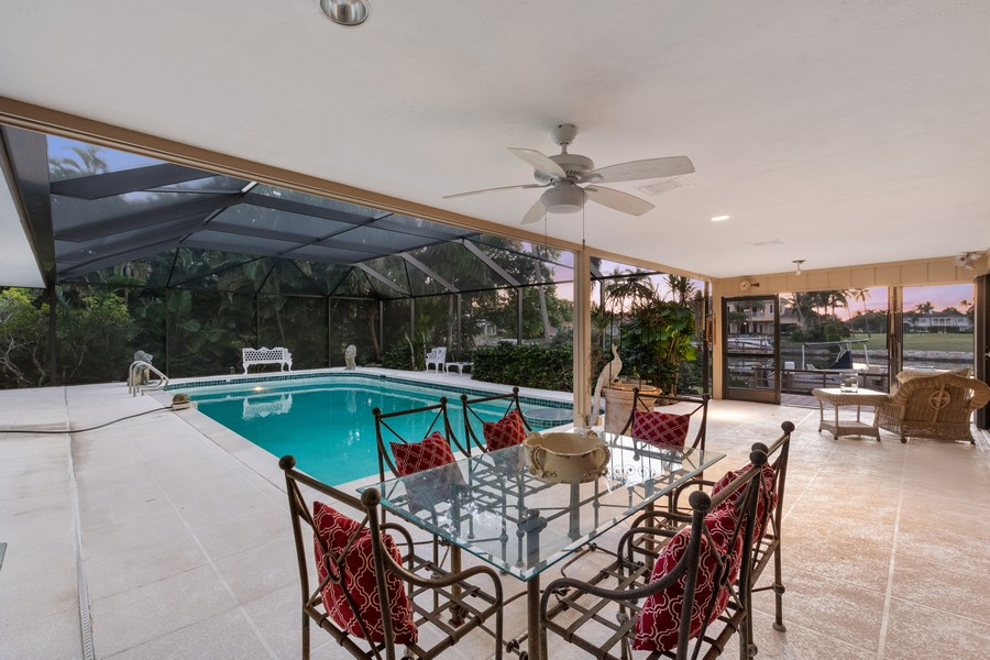 Real Estate Photography - 3220 Rum Row, Naples, FL, 34102 - Pool