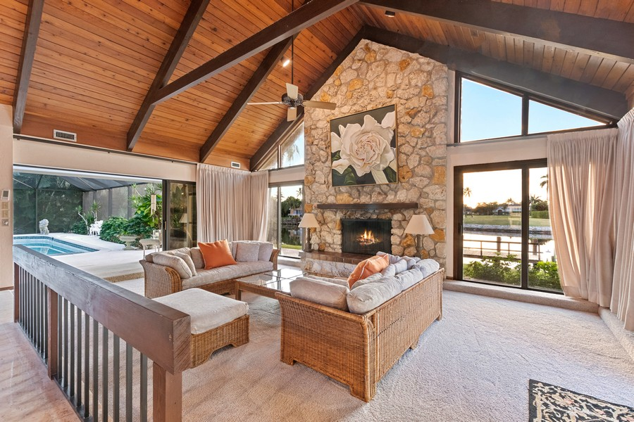 Real Estate Photography - 3220 Rum Row, Naples, FL, 34102 - Family Room