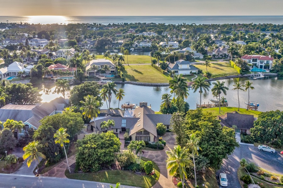 Real Estate Photography - 3220 Rum Row, Naples, FL, 34102 - Estate Sized lot