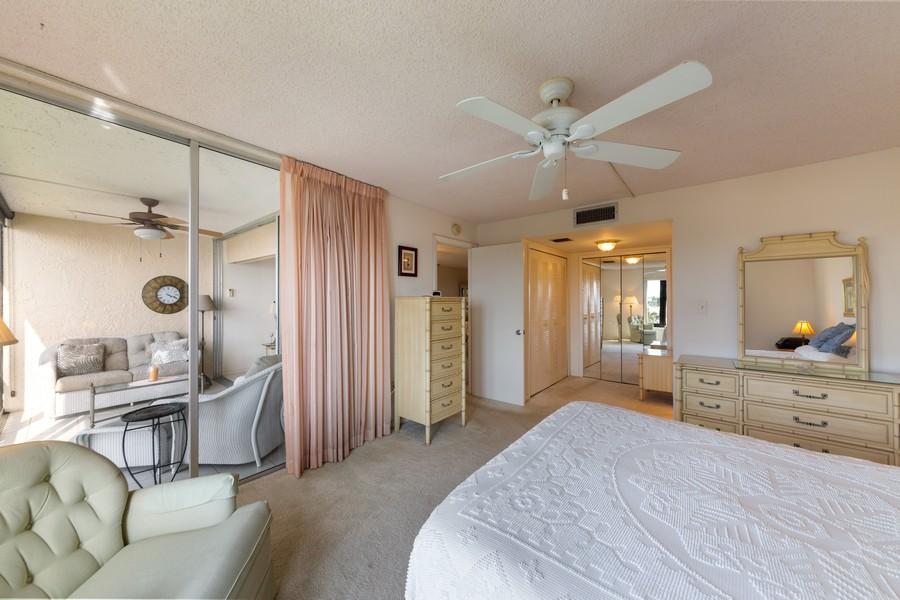 Real Estate Photography - 4280 SE 20th Pl, Unit 702, Cape Coral, FL, 33904 - Master Bedroom