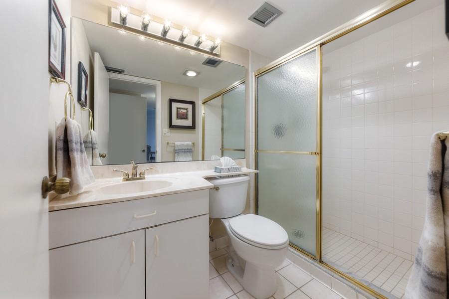 Real Estate Photography - 4280 SE 20th Pl, Unit 702, Cape Coral, FL, 33904 - 2nd Bathroom