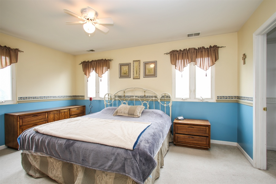 Real Estate Photography - 312 N. William, Mt. Prospect, IL, 60056 - Master Bedroom