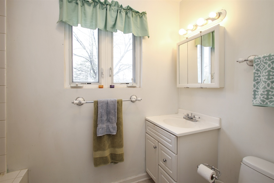 Real Estate Photography - 312 N. William, Mt. Prospect, IL, 60056 - 2nd Bathroom