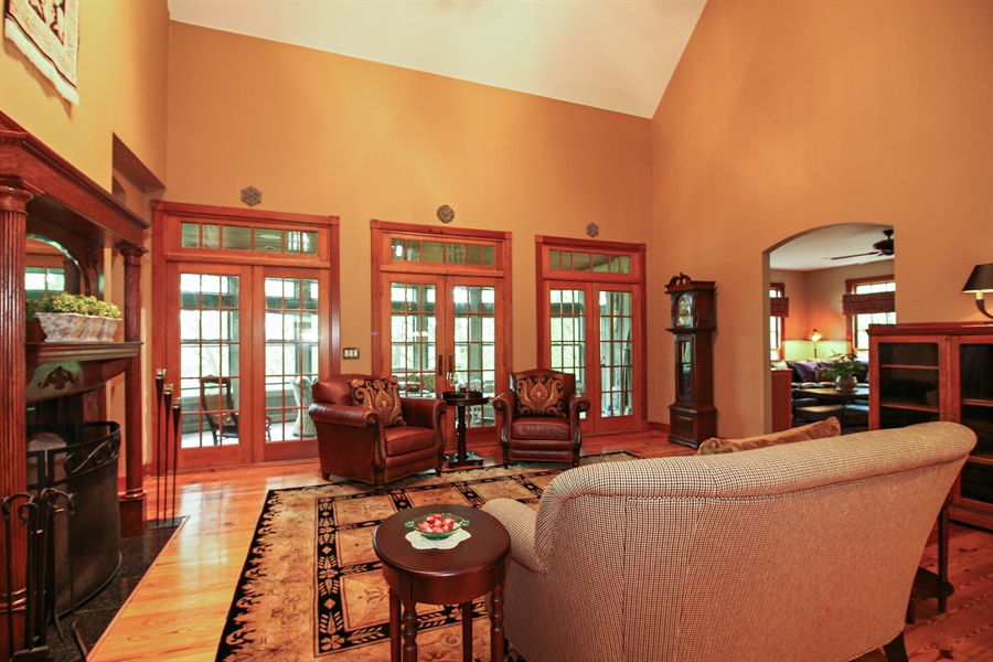 Real Estate Photography - 800 Valley Hill, Woodstock, IL, 60098 - Living Room