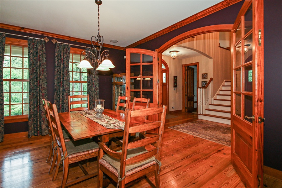 Real Estate Photography - 800 Valley Hill, Woodstock, IL, 60098 - Dining Room