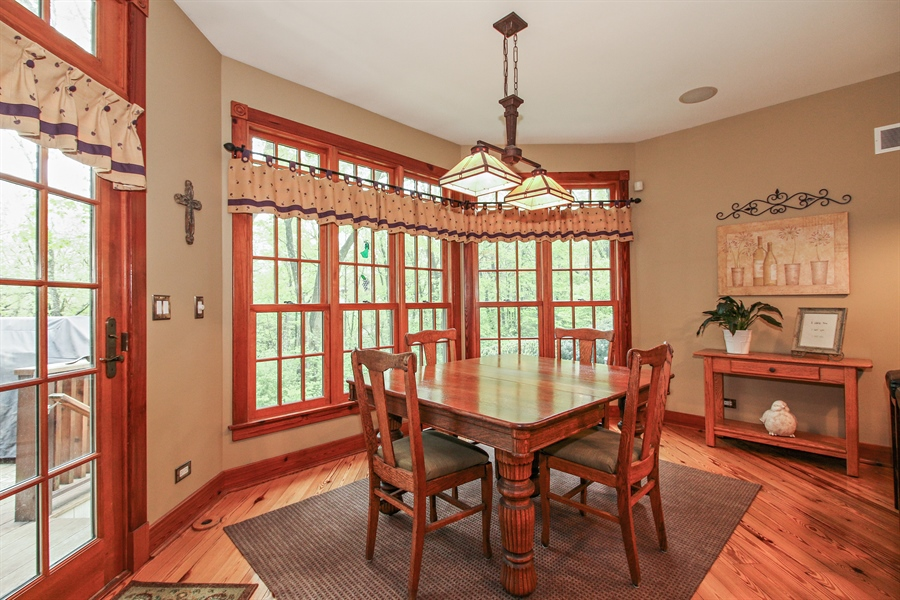 Real Estate Photography - 800 Valley Hill, Woodstock, IL, 60098 - Breakfast Area