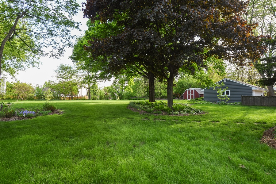 Real Estate Photography - 449 W Grand Ave, Lake Zurich, IL, 60047 - Back Yard