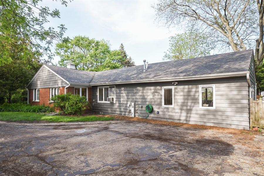 Real Estate Photography - 449 W Grand Ave, Lake Zurich, IL, 60047 - Side View