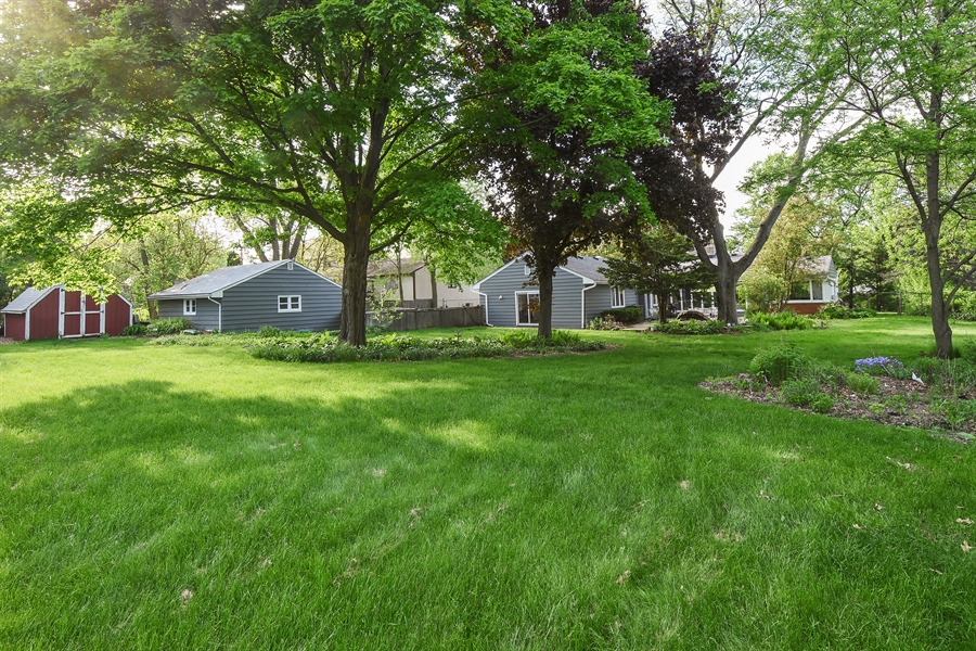 Real Estate Photography - 449 W Grand Ave, Lake Zurich, IL, 60047 - Rear View