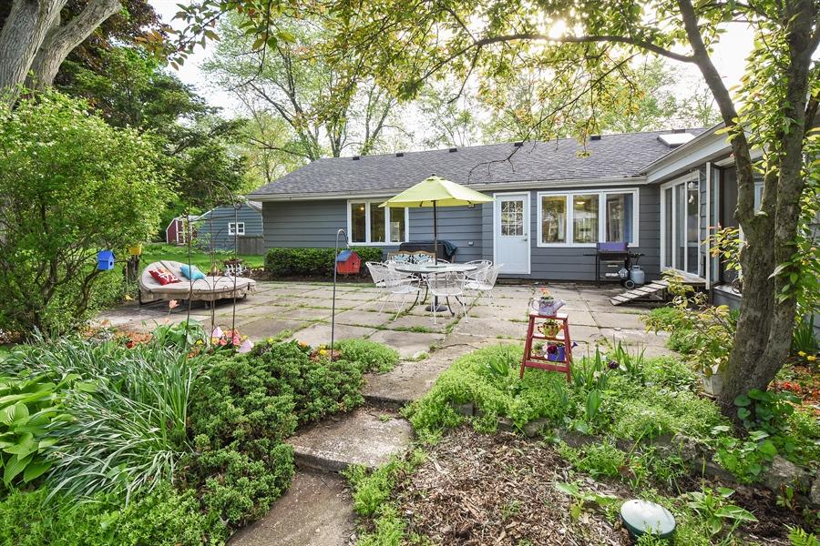 Real Estate Photography - 449 W Grand Ave, Lake Zurich, IL, 60047 - Patio