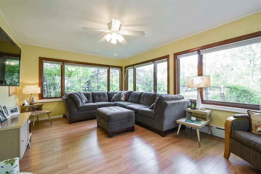 Real Estate Photography - 449 W Grand Ave, Lake Zurich, IL, 60047 - Sun Room