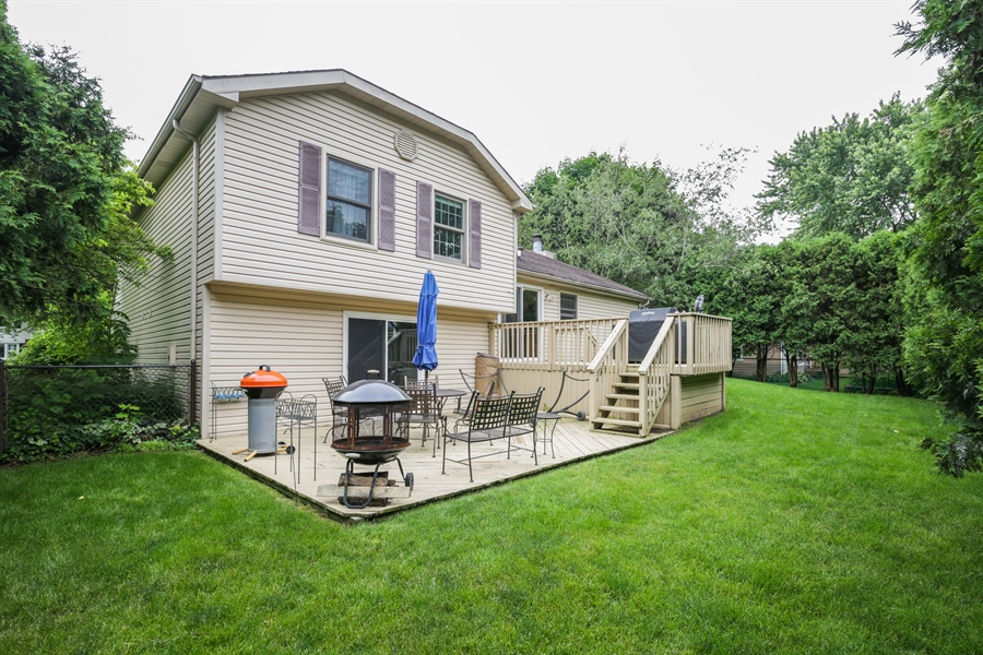 Real Estate Photography - 720 Mulberry, Algonquin, IL, 60102 - Rear View
