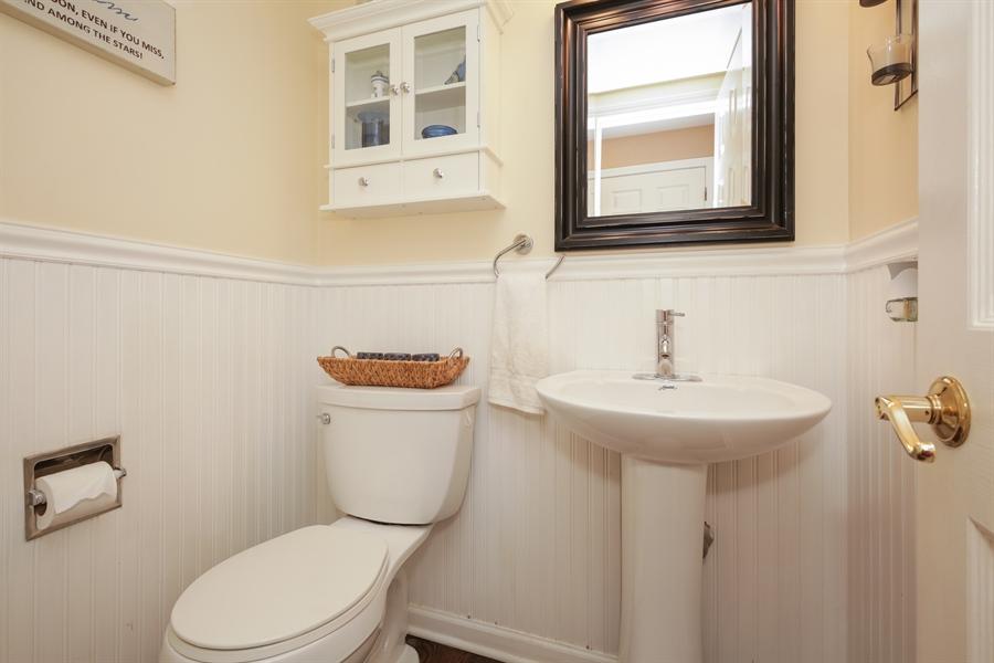 Real Estate Photography - 720 Mulberry, Algonquin, IL, 60102 - Half Bath