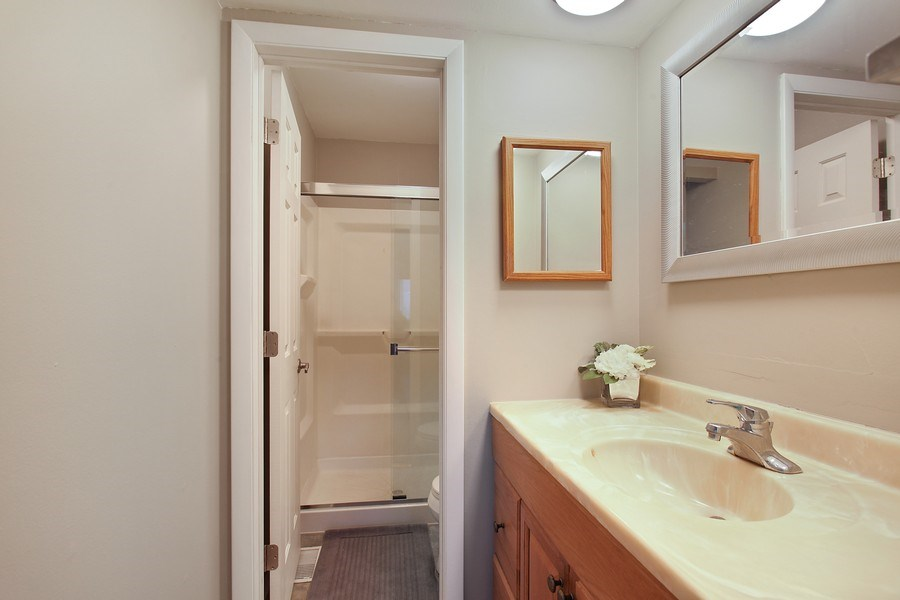 Real Estate Photography - 2132 Adams St, Rolling Meadows, IL, 60008 - Master Bathroom