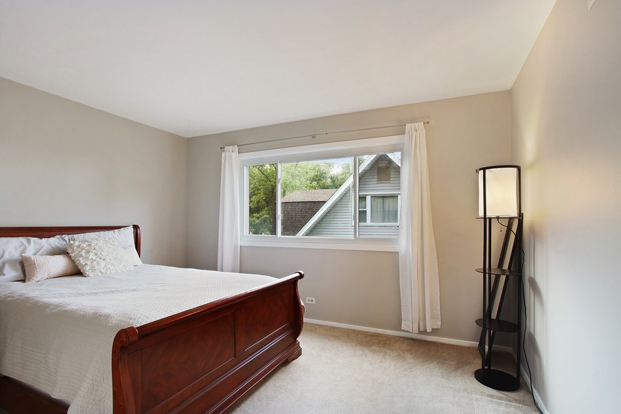 Real Estate Photography - 2132 Adams St, Rolling Meadows, IL, 60008 - 2nd Bedroom