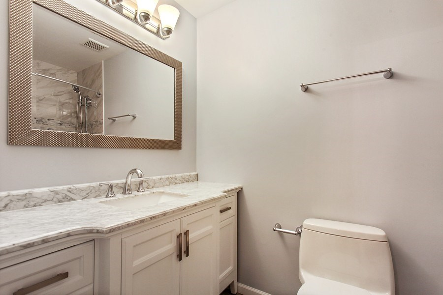 Real Estate Photography - 2132 Adams St, Rolling Meadows, IL, 60008 - Bathroom
