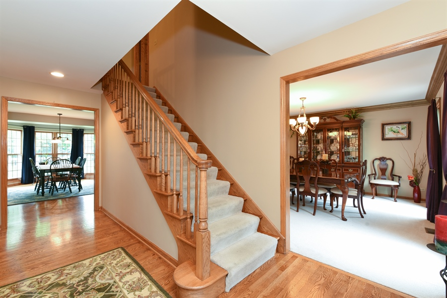 Real Estate Photography - 10N768 Williamsburg Dr, Elgin, IL, 60124 - Foyer