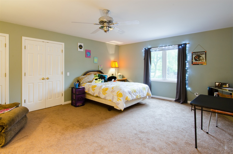 Real Estate Photography - 1545 N Harrison St, Algonquin, IL, 60102 - 2nd Bedroom